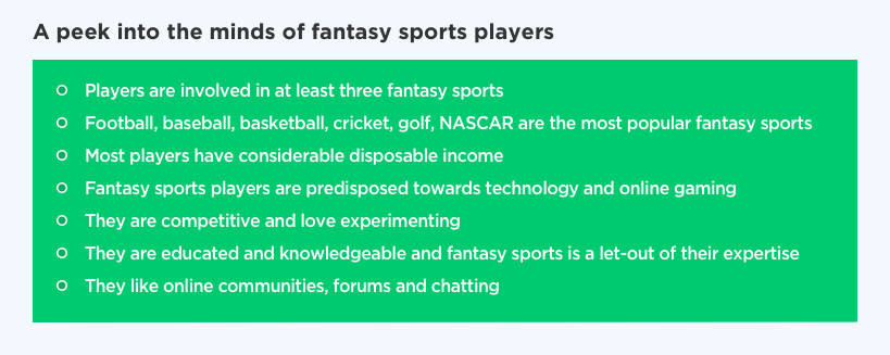A pick into the minds of fantasy sports players by Vinfotech