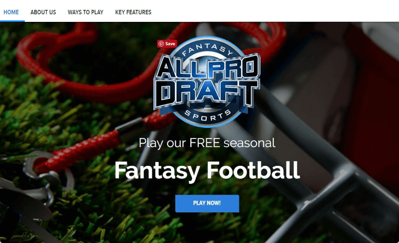 Allprodraft – Fantasy Soccer Software by Vinfotech