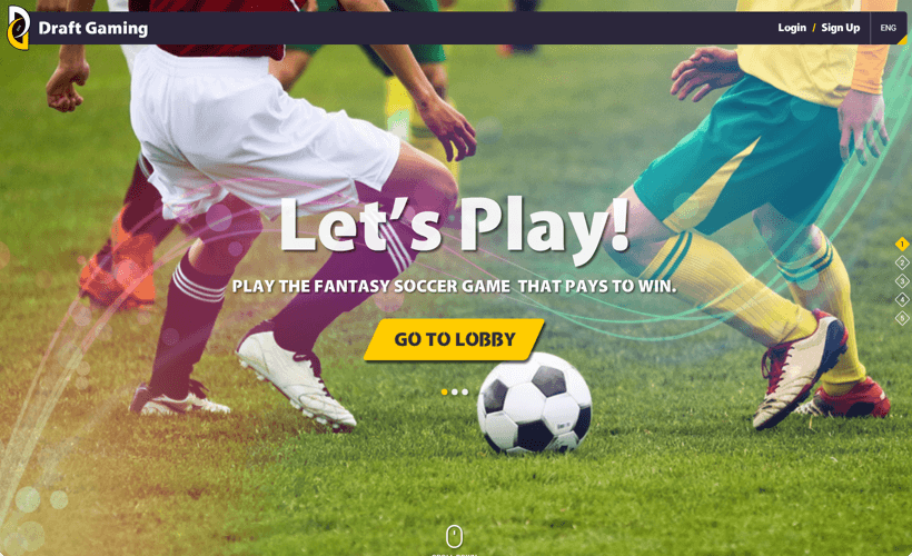 Draftgaming – Fantasy Soccer Software by Vinfotech