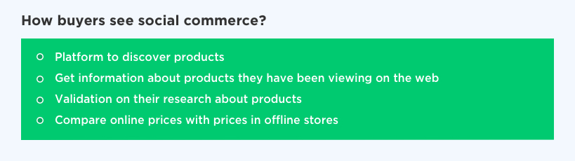 How Buyers See Social Commerce by Vinfotech