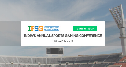 Fantasy sports software showcase at IFSG Mumbai Vinfotech