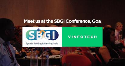 Fantasy sports software showcase at SBGI Goa by Vinfotech