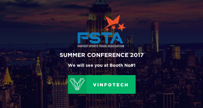 Sports betting applications at FSTA event by Vinfotech