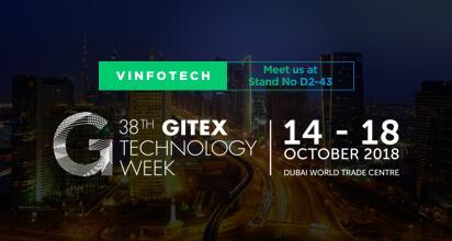 Vinfotech to exhibit at 38th GITEX Technology Week in Dubai title=
