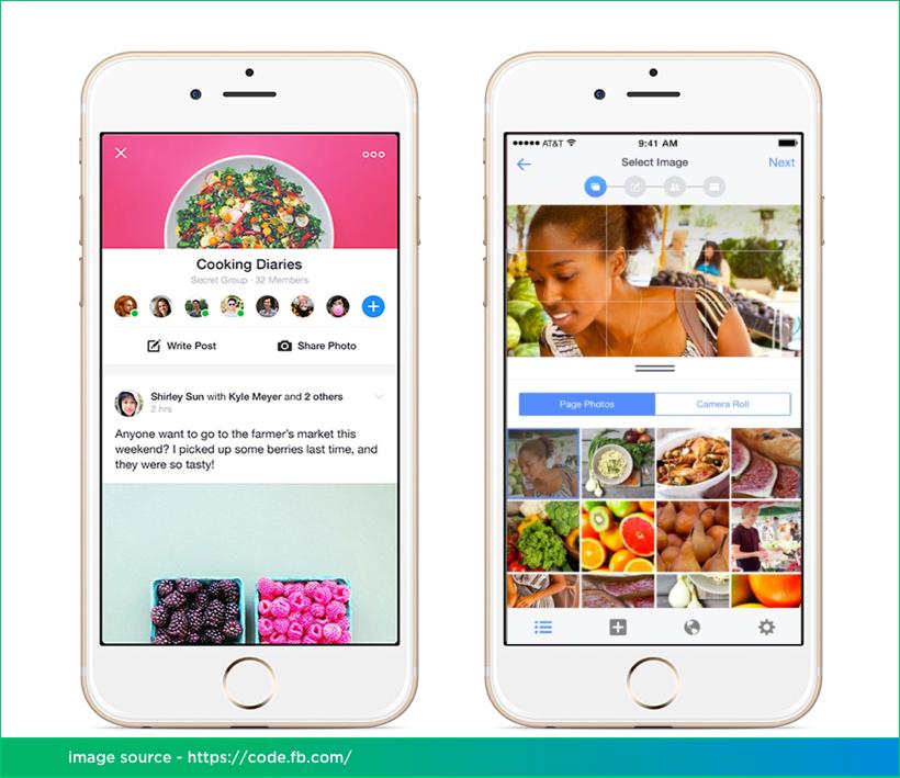 Facebook Mobile App Development on React Native by Vinfotech