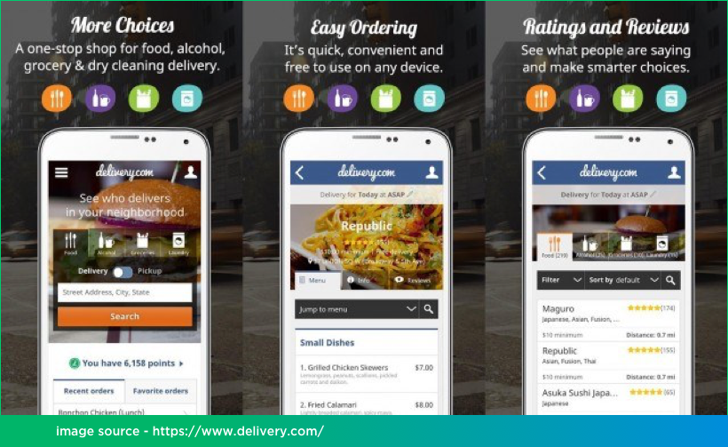 Food Delivery Mobile App Development on React Native by Vinfotech