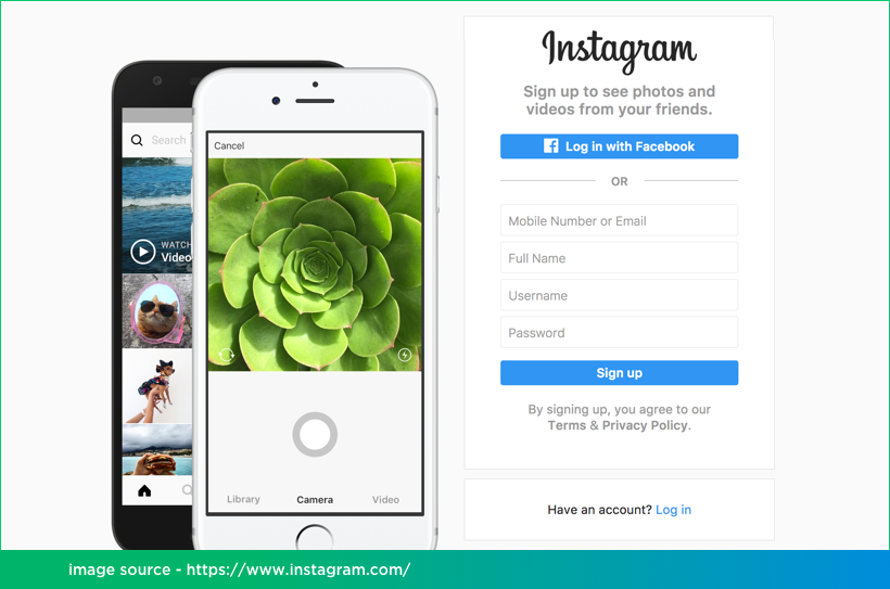 Instagram Mobile App Development on React Native by Vinfotech