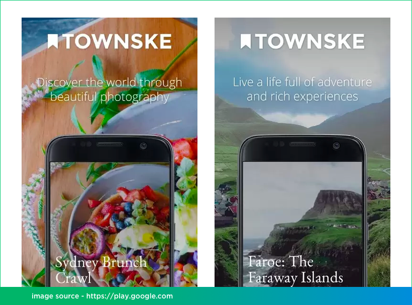 Townske Mobile App Development on React Native by Vinfotech