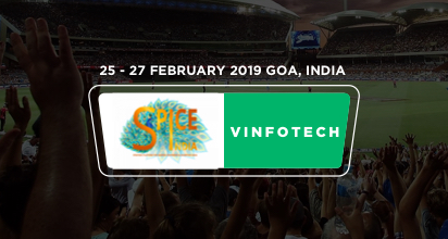 Vinfotech speaking at Spice 2019 Goa