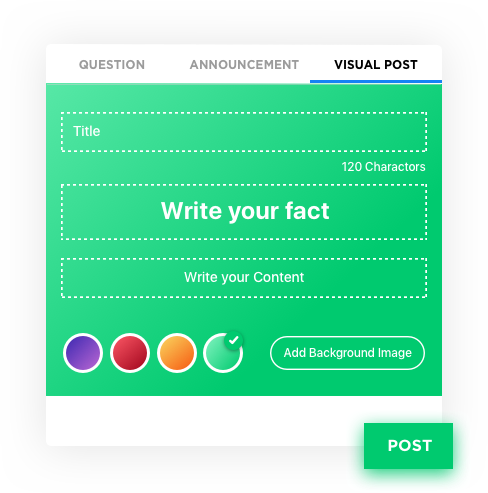 Visual Posts – Social Media Application Development Software by Vinfotech